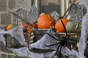 Halloween Window Box