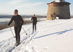 Cross Country Skiing on the Plaines of Abraham.  Credits: Region Quebec.com