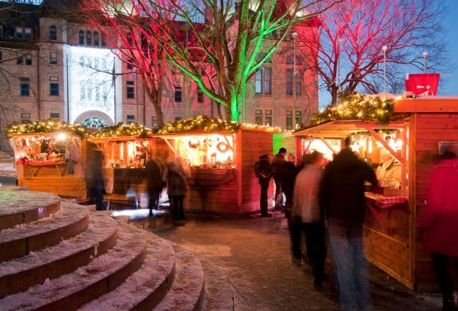 0157 Marché de Noël allemand_German Christmas Market