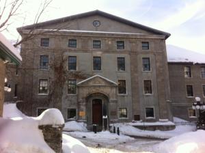 Le Morrin Center en hiver